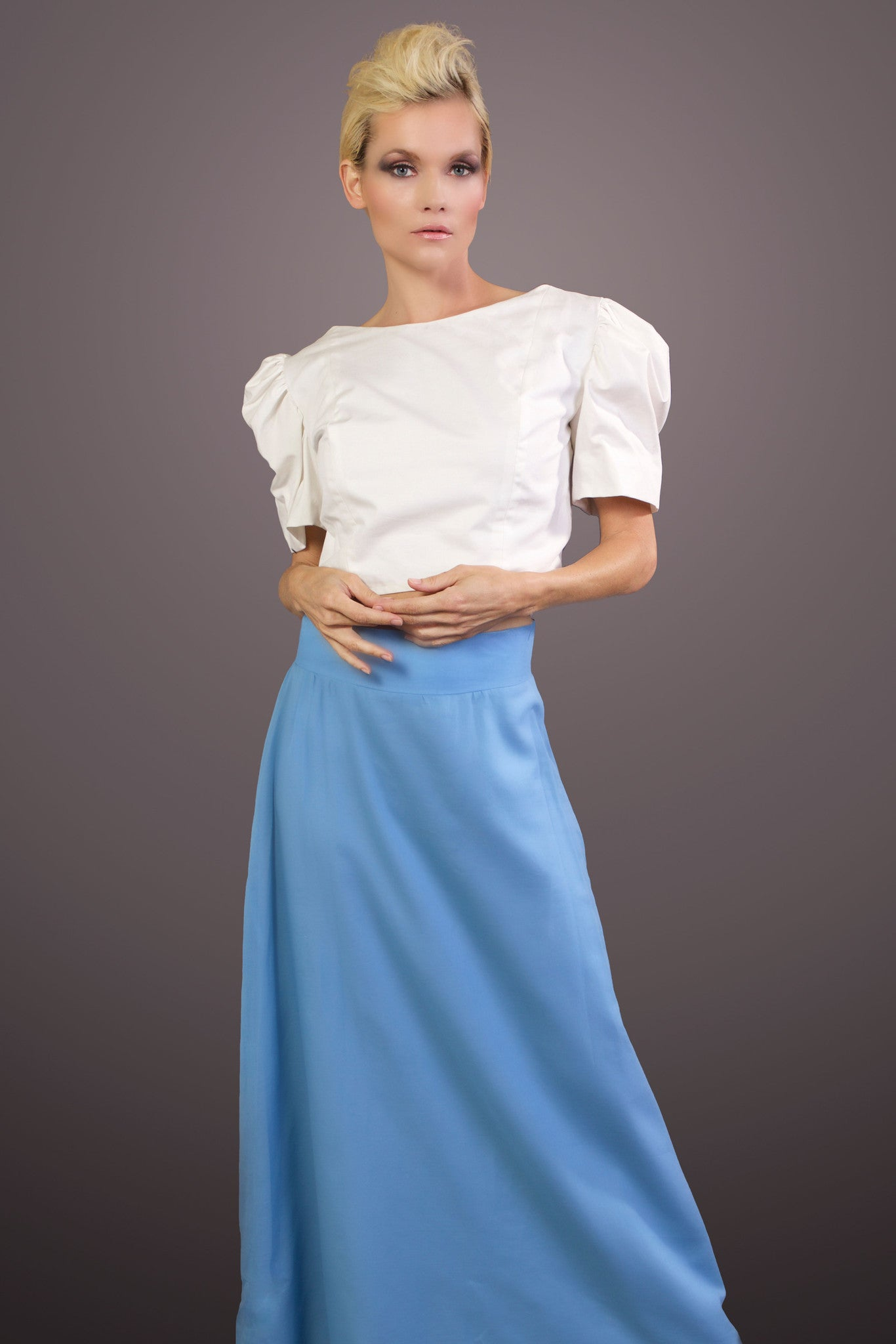 Freedom to Dream- Organic Cotton Maxi Skirt