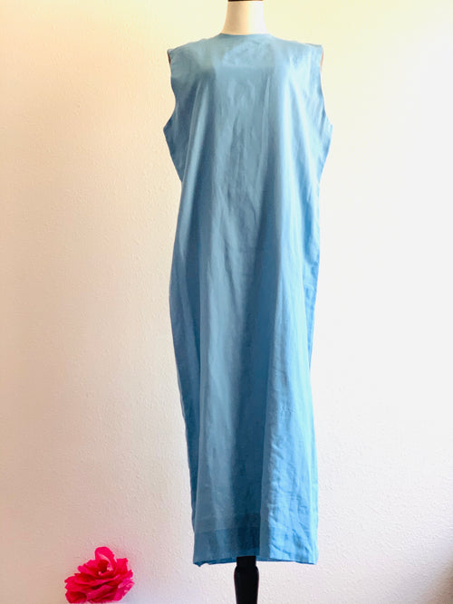 Organic Cotton Maxi Shift Dress