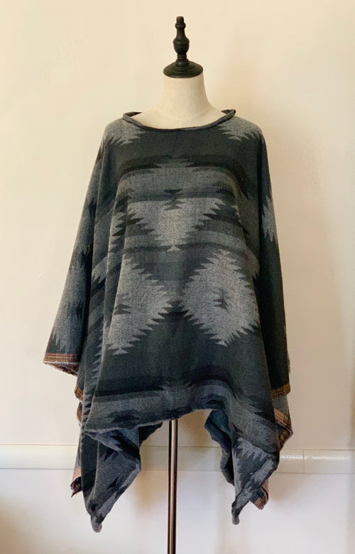 Custom Order Classic Poncho - Your Fabric