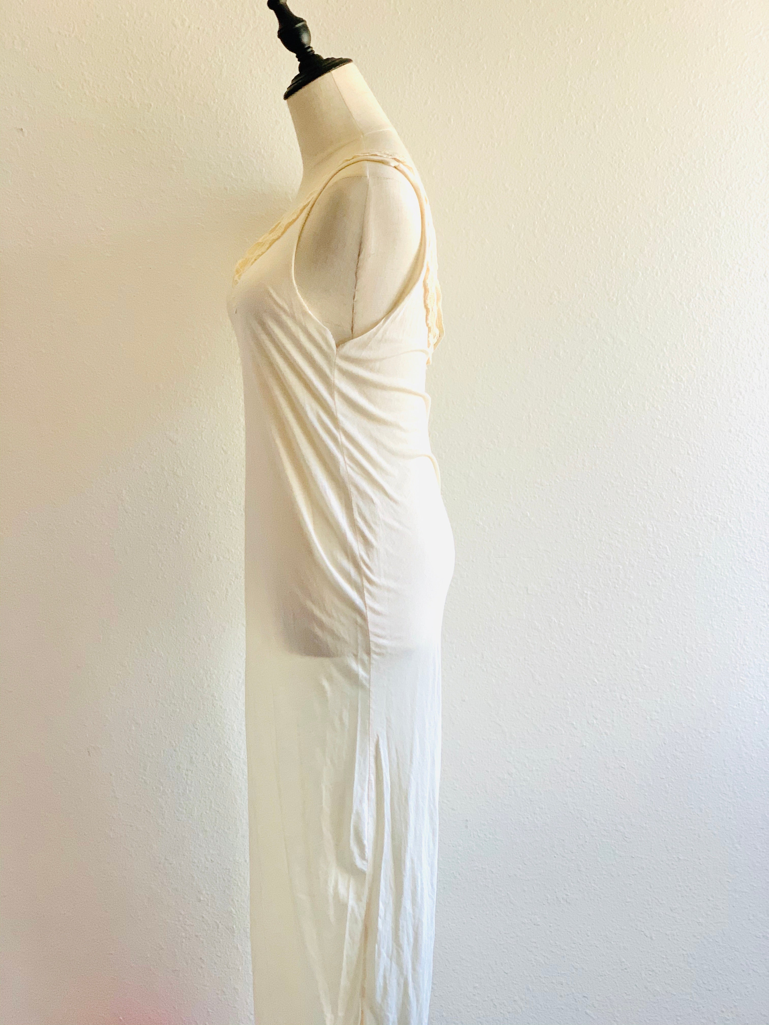 Soft 100% organic cotton maxi dress