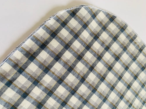 100% organic cotton Pocket Square and handkerchief Large