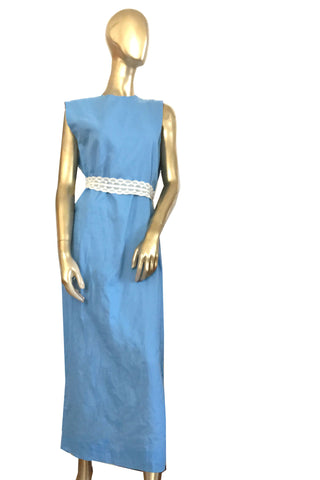 Freedom to Grace - 100% Organic Cotton Dress Gown Blue