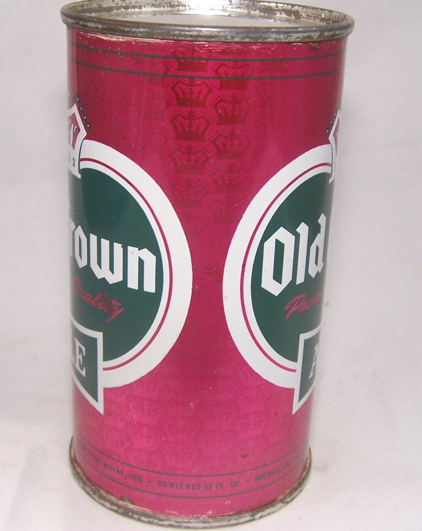 Old Crown Ale set can (light purple) USBC 105-06, Grade 1/1+