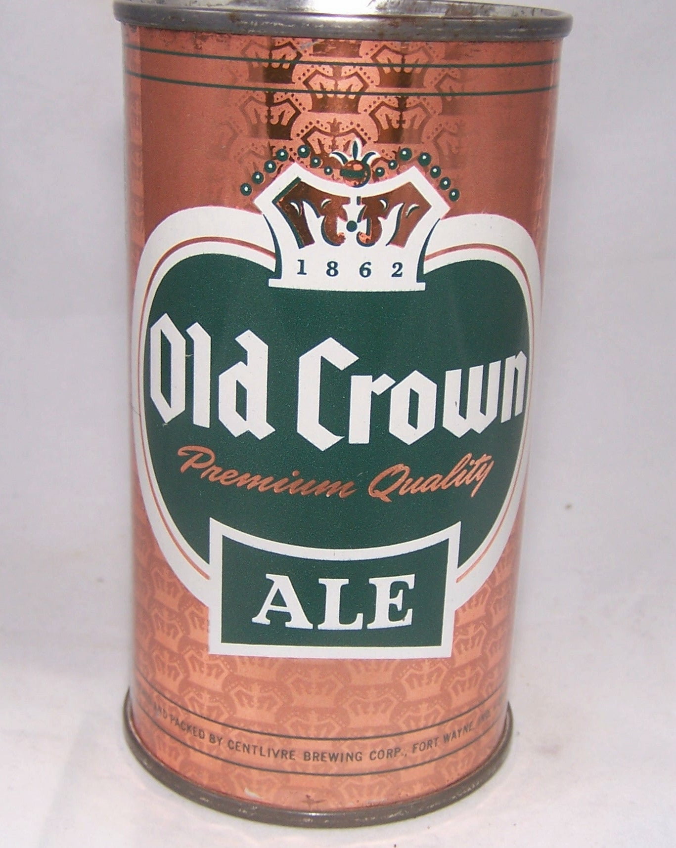 Old Crown Ale Set Can (Copper) USBC 105-02, Grade 1/1+ Sold on 09/25/16