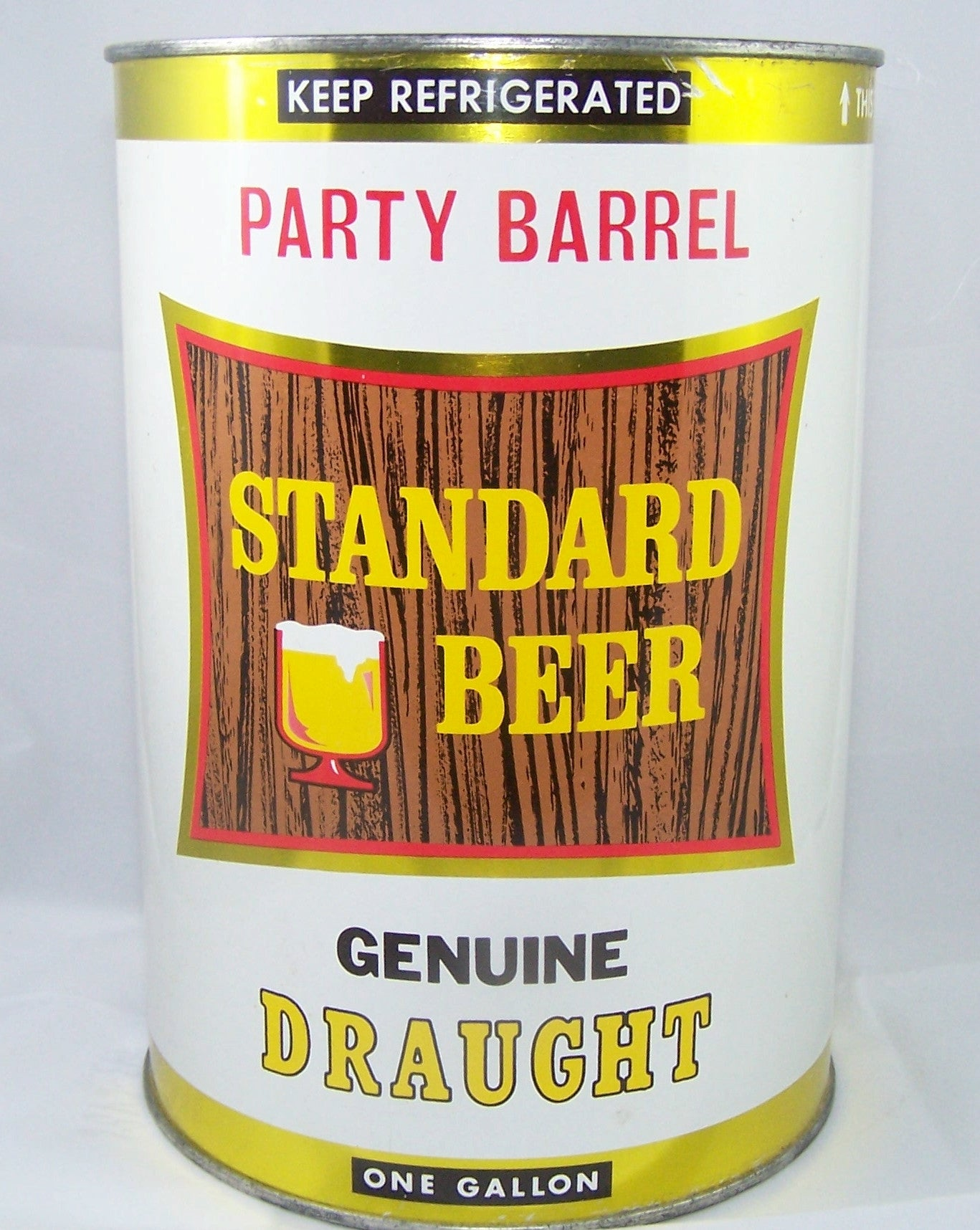 Standard Beer (Party Barrel) USBC 246-8, Grade A1+  Sold on 2/27/15