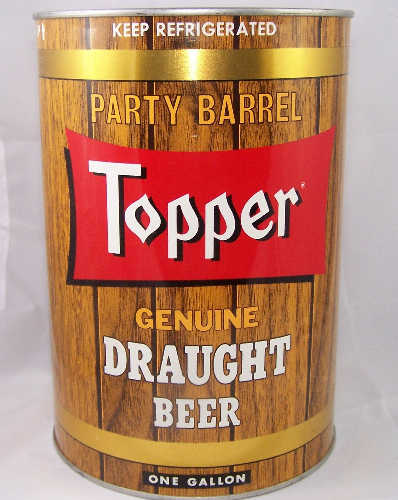 Topper Genuine Draught Beer, USBC 246-12, Grade A1+