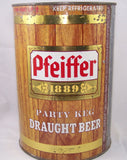 Pfeiffer Party Keg Draught Beer, USBC 246-3, Grade 1-/2+ Sold 2/27/15