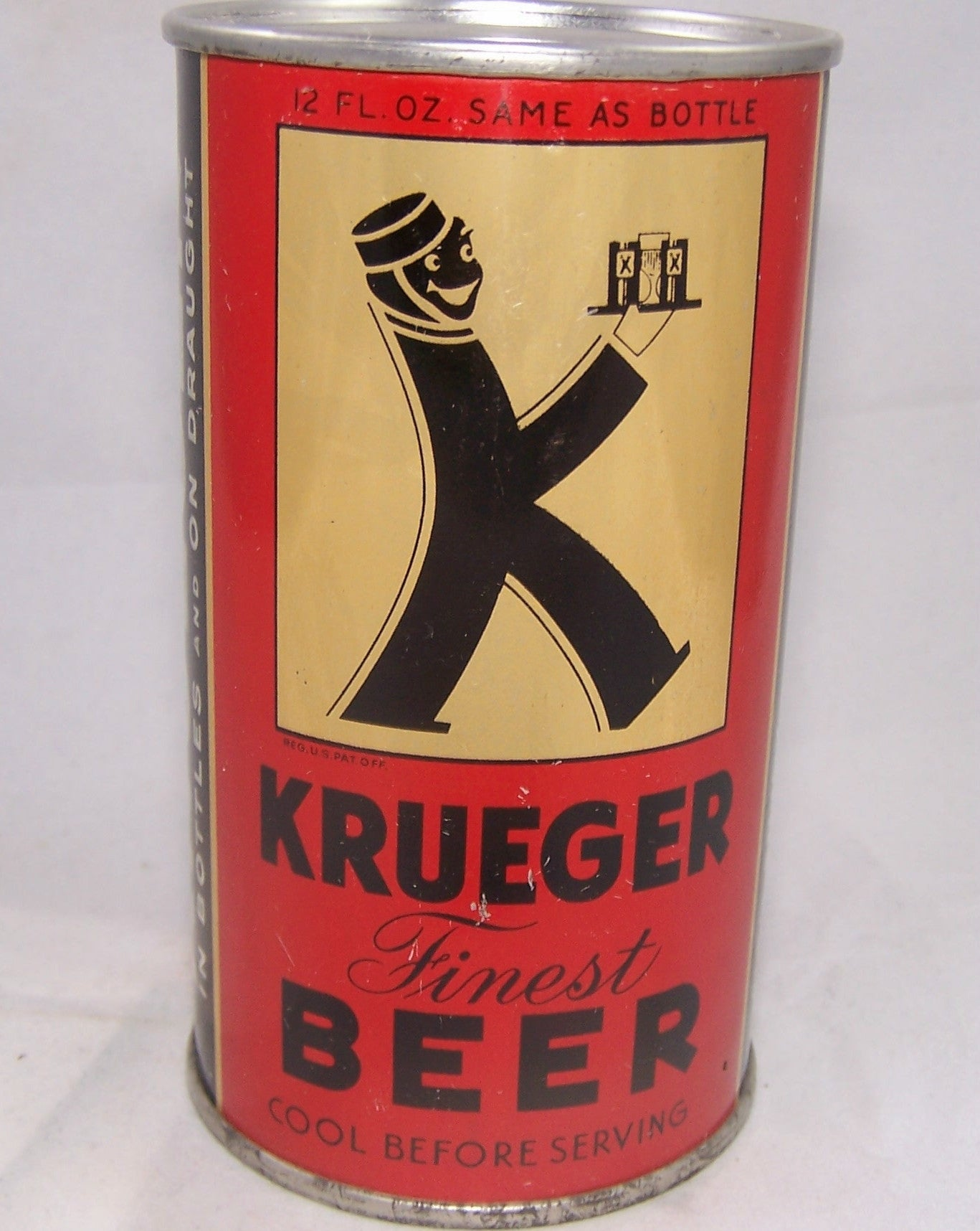 Krueger Finest Beer, Lilek # 483, Grade 1 to 1/1+ Sold on 09/28/16