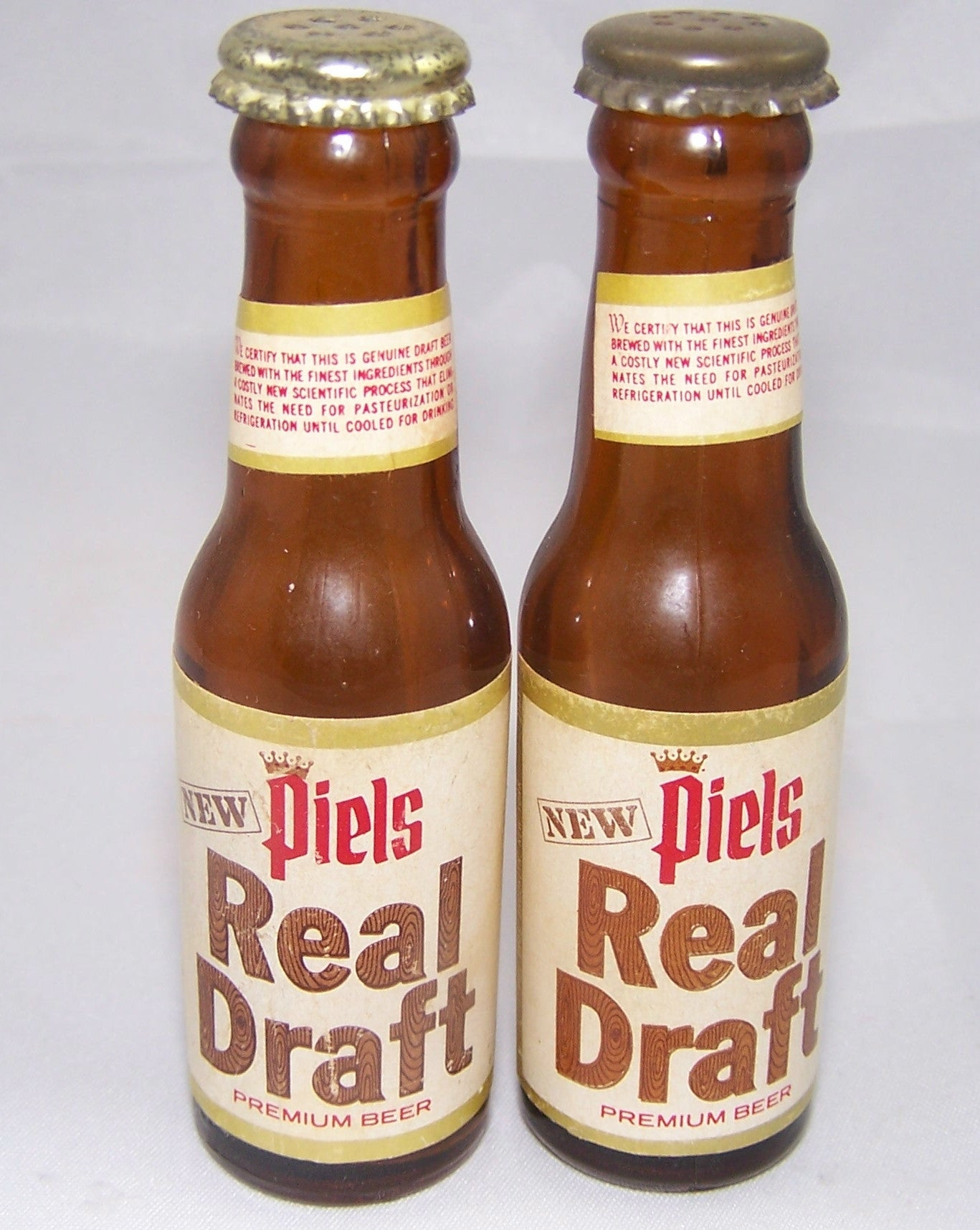 Piels Real Draft Mini Bottles