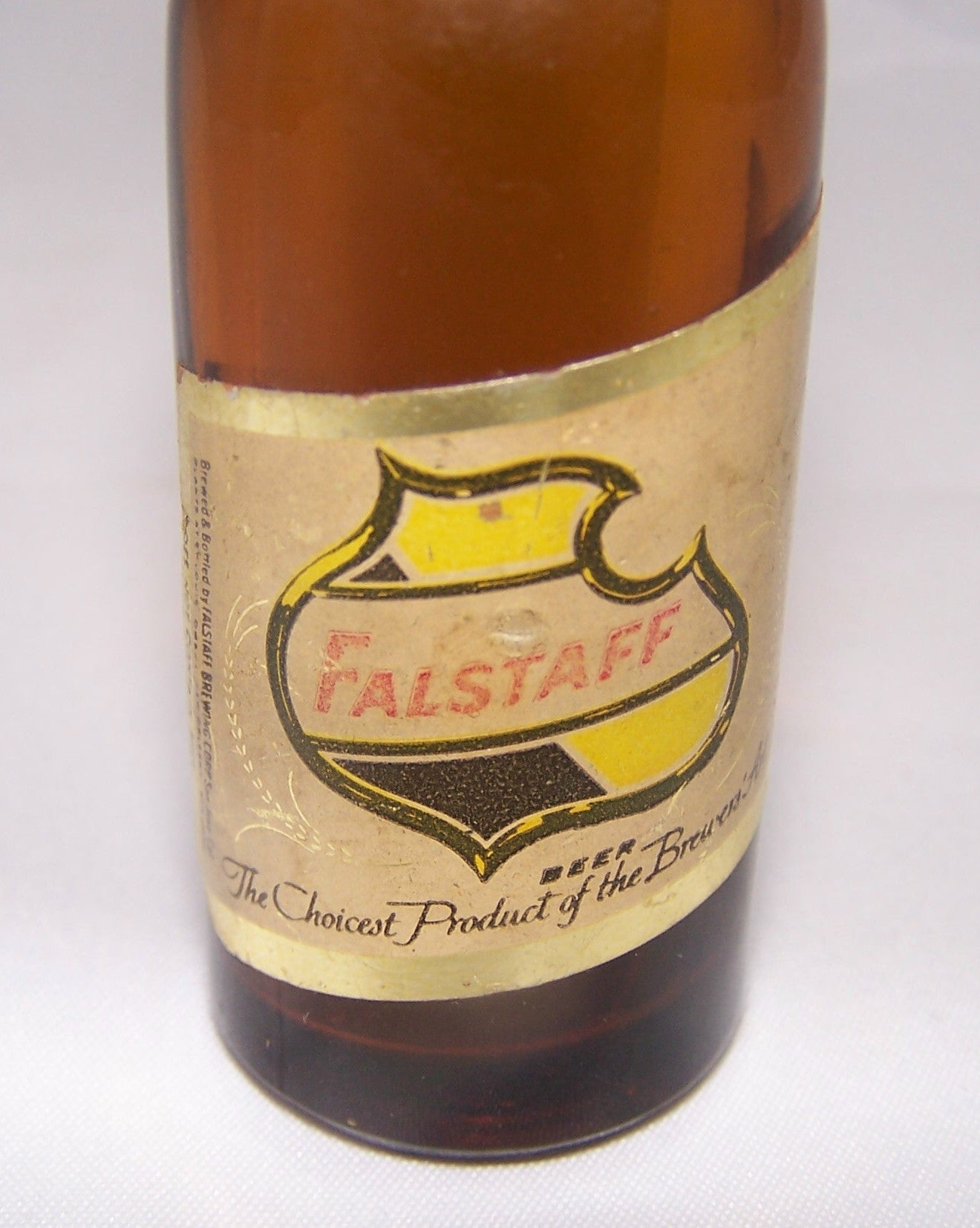 Falstaff mini bottle