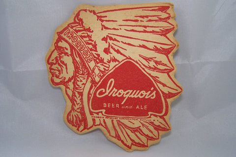 Iroquois Beer and Ale die-cut