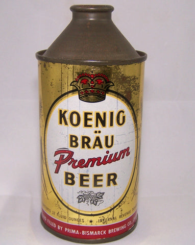 Koenig Brau Premium Beer, DNCMT 4%, USBC 171-30, Grade 1- Sold on 10/07/15