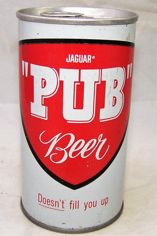 "Jaguar ""PUB"" Beer, USBC II 82-25, Grade 1 to 1/1-"