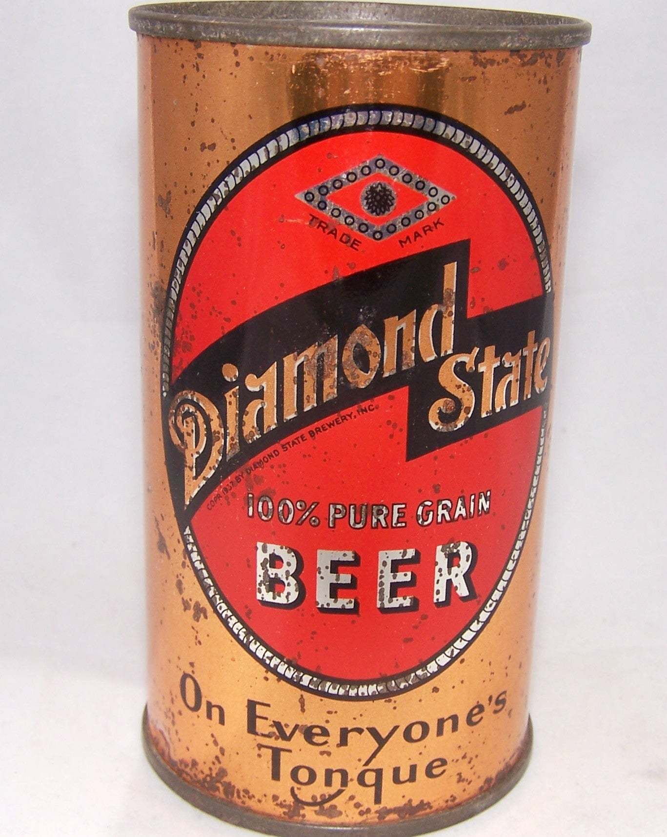 Diamond State Pure Grain Beer, Lilek # 195, Grade 1-/2+ Sold on 12/07/16