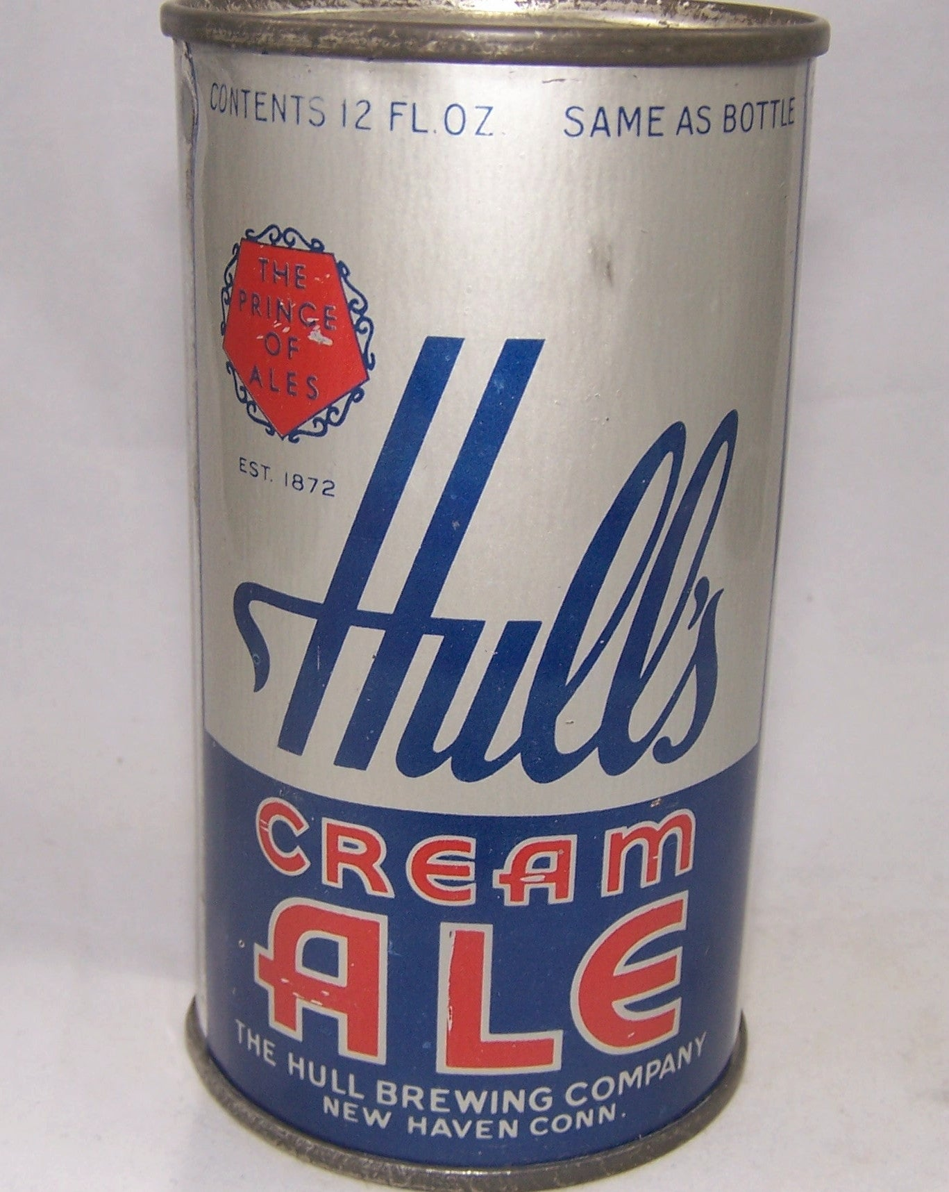 Hull's Cream Ale, Lilek # 430, Grade 1.   Sold on 04/16/18