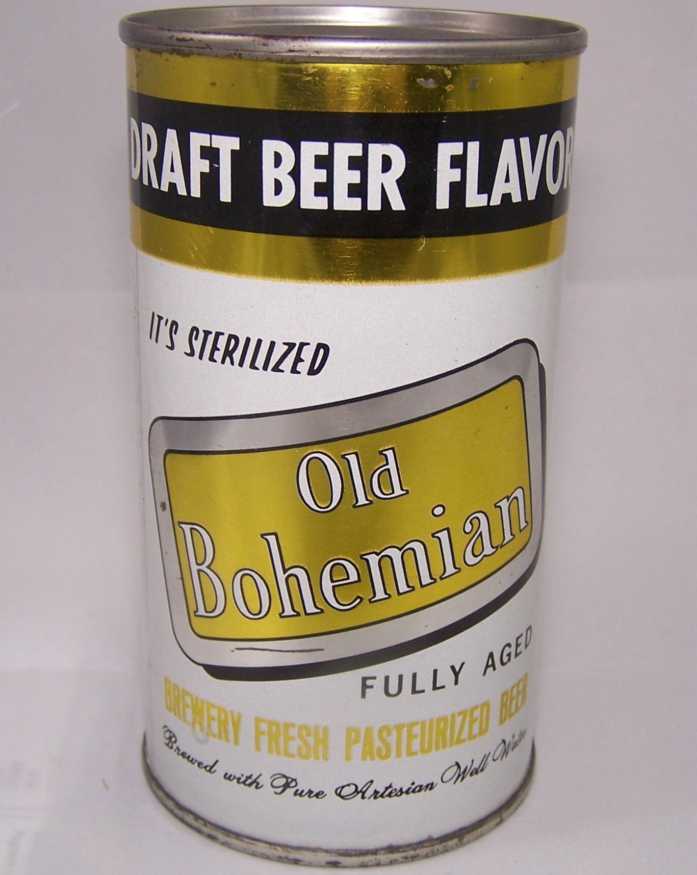 Old Bohemian Draft Beer Flavor, USBC 104-30, Grade 1 to 1/1+ Sold 4/10/15