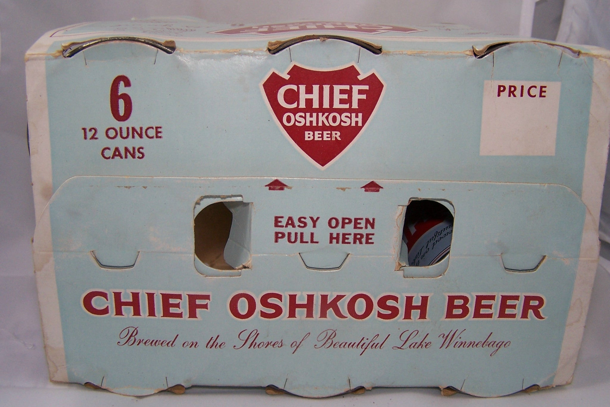 Six Chief Oshkosh Flat tops in original Holder, USBC 49-27, Grade 1/1+ Sold on 6/6/15