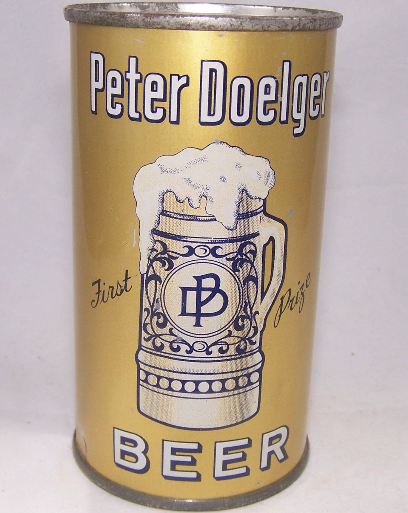 Peter Doelger First Prize Beer, Lilek # 670, Grade 1 to 1/1+ Sold on 12/10/16