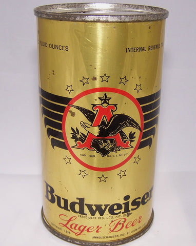 Budweiser Open Star Lager Beer, Lilek page # 146, Grade 1 to 1/1+ Sold 3/2/15