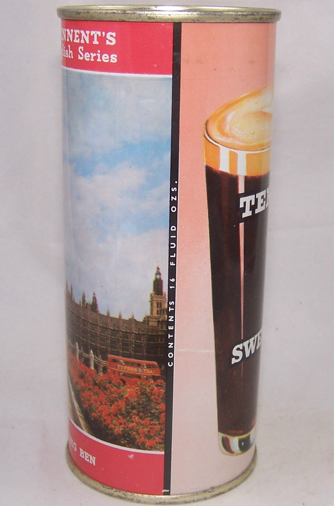 Tennent's Sweet Stout, English Series ( Big Ben), Grade A1+ Sold on 12/19/16