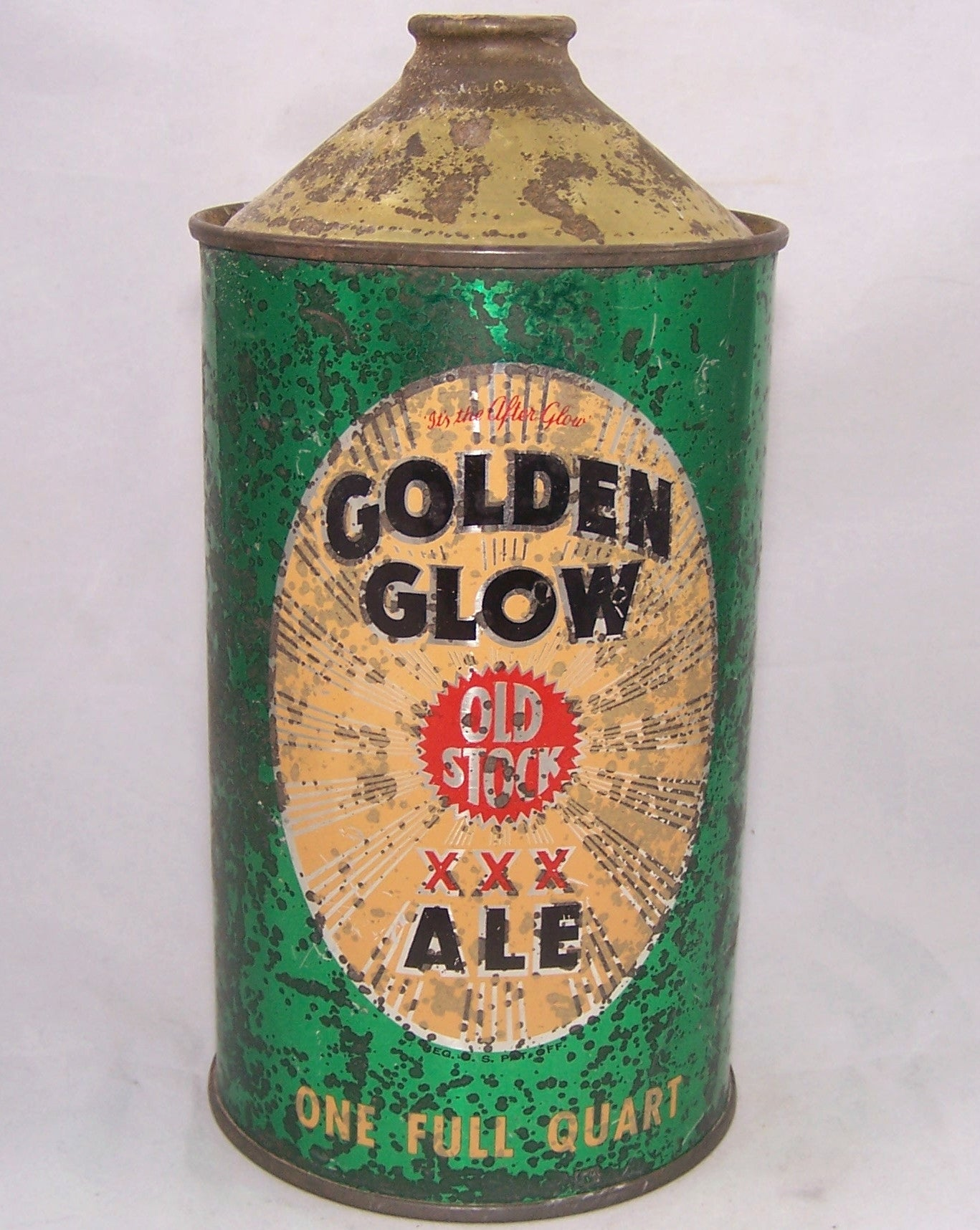 Golden Glow Ale, USBC ? Grade 2 Sold on 11/26/16