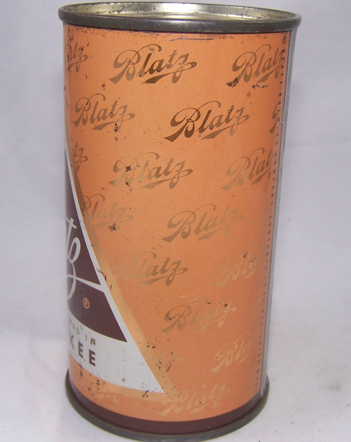 Blatz Beer, (Orange) USBC 39-14, Grade 1- Sold on 11/20/16