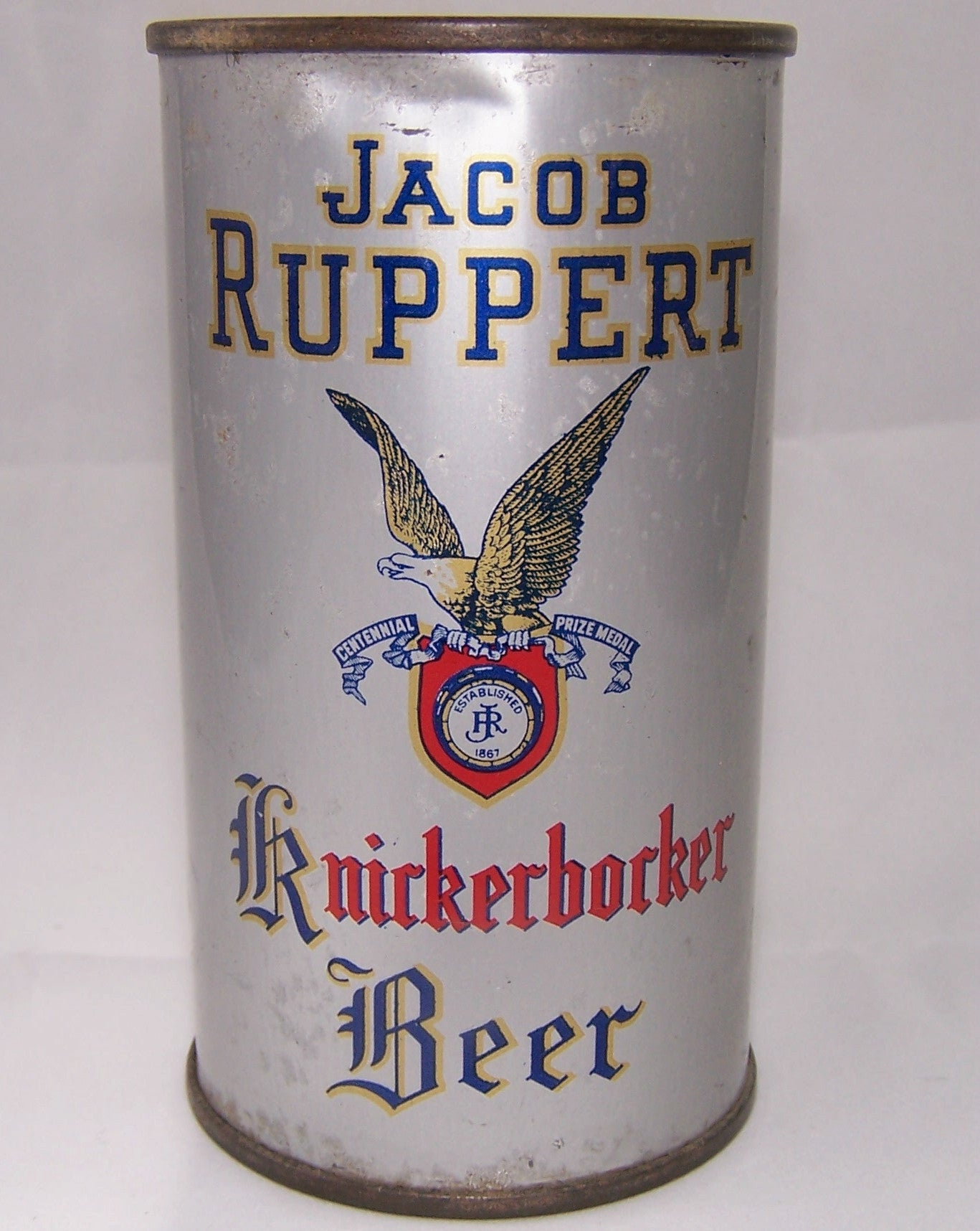 Jacob Ruppert Knickerbocker Beer, USBC 126-1, Grade 1- Sold on 07/27/18
