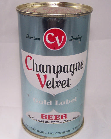 Champagne Velvet Gold Label Beer (Lt. Blue) USBC 48-39, Grade 1