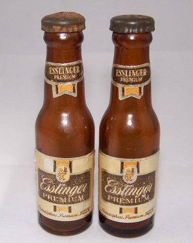 Esslinger's Premium pair of miniature bottles, Grade 7