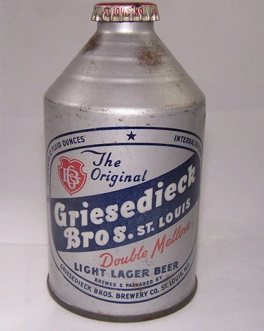 Griesedieck Bros. Light Lager Beer, USBC 195-4, Grade 1/1-