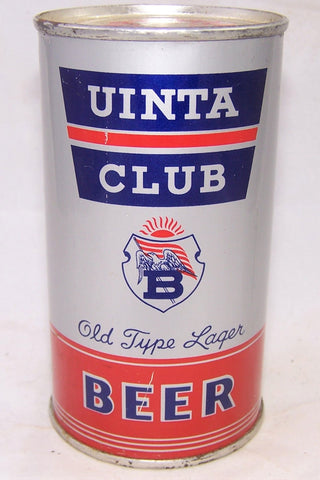 Uinta Club Old Type Lager Beer, Lilek # 823, and USBC 142-06, Grade 1/1+