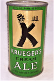 Krueger's Cream Ale (Long Opener) Lilek# Like 461 USBC L89-26, Grade 1/1+ Sold on 04/17/19