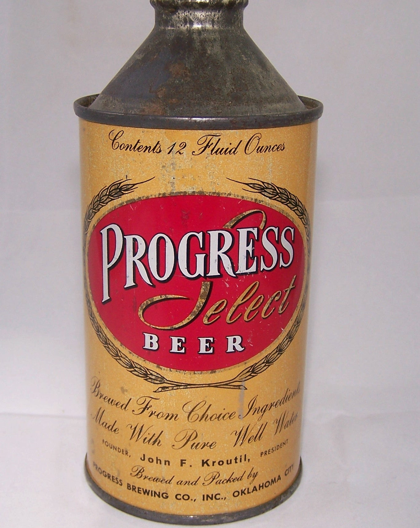 Progress Select Beer Non-IRTP, USBC 179-30, Grade 1- Sold 4/5/15