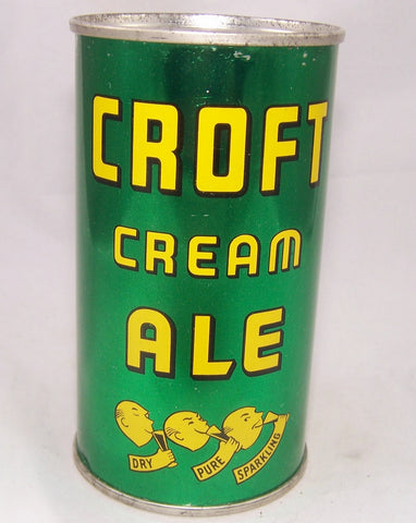 Croft Cream Ale (Six Products) USBC 52-22, Grade 1/1+ Sold on 04/12/17