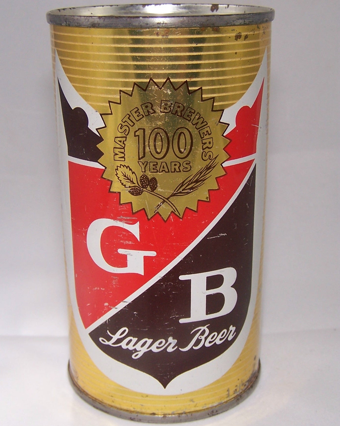 GB Lager Beer, USBC 71-28, (Maryland) Grade 1/1- Sold 4/10/15