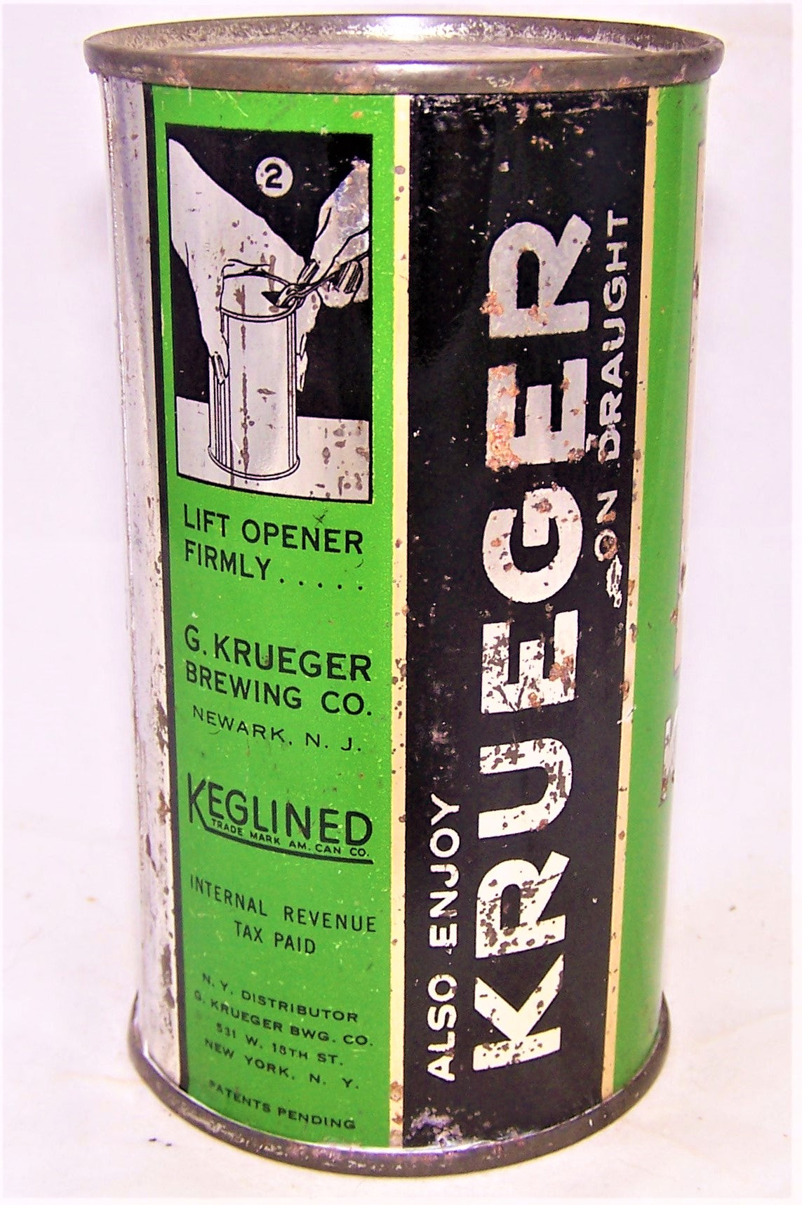 Krueger Cream Ale, Lilek page # 462 and Like USBC 89-27, Grade 1-/2+