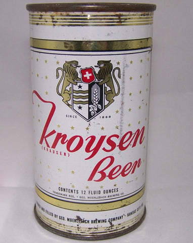 Kroysen Beer USBC 89-20, Grade 1- Sold on 3/22/15