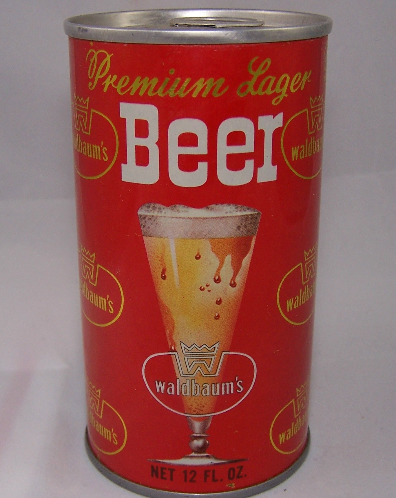 Waldbaum's Premium Lager Beer, USBC II 133-23, Grade A1+ Sold on 4/12/15