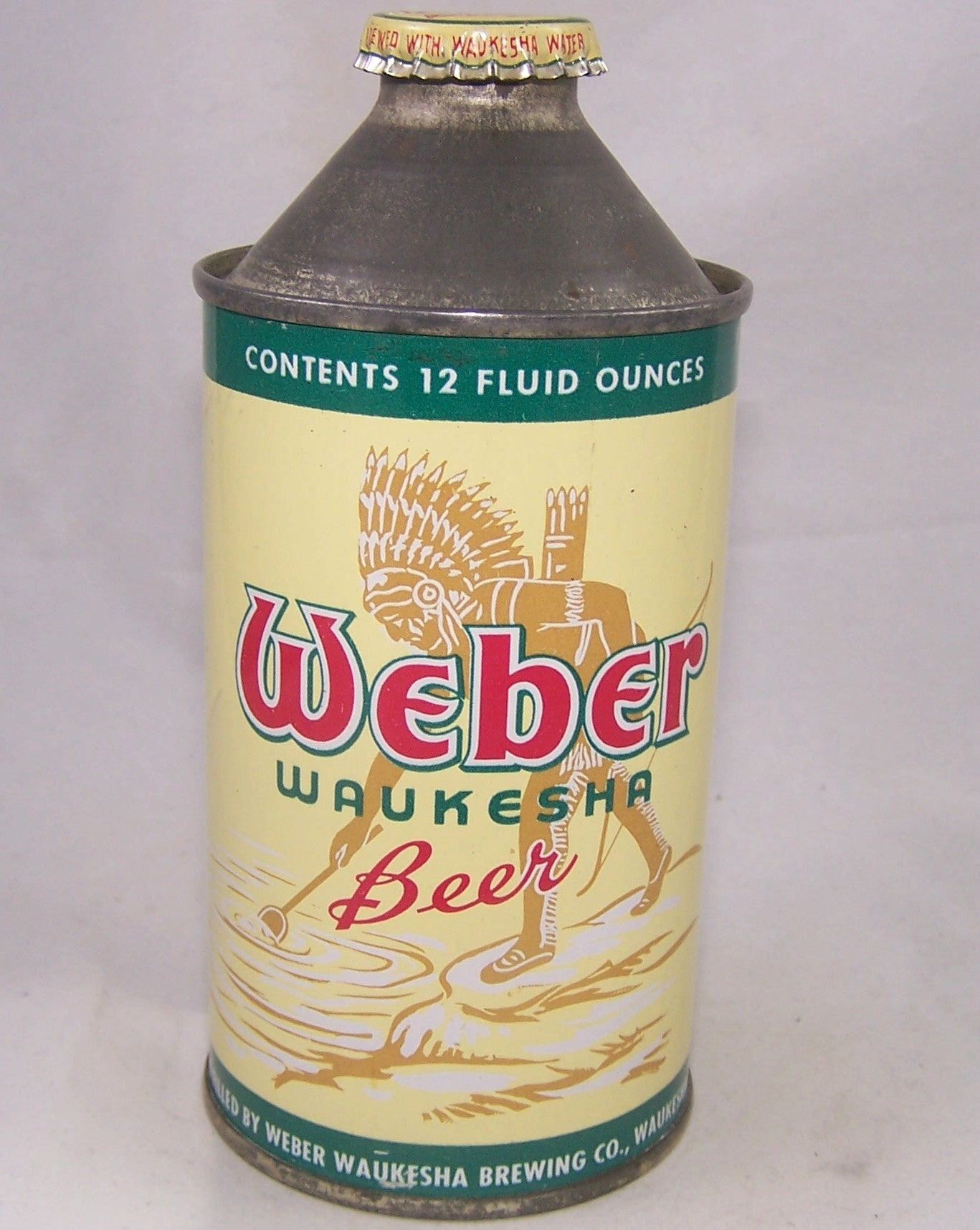 Weber Waukesha Beer, USBC 188-29, Grade A1+ Sold on 04/28/17