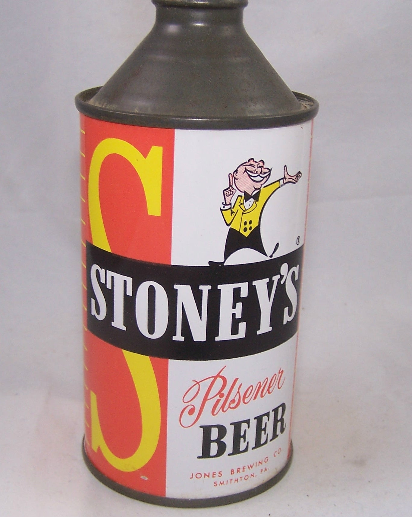 Stoney's Pilsener Beer, USBC 186-10, Grade 1/1+ Sold on 02/17