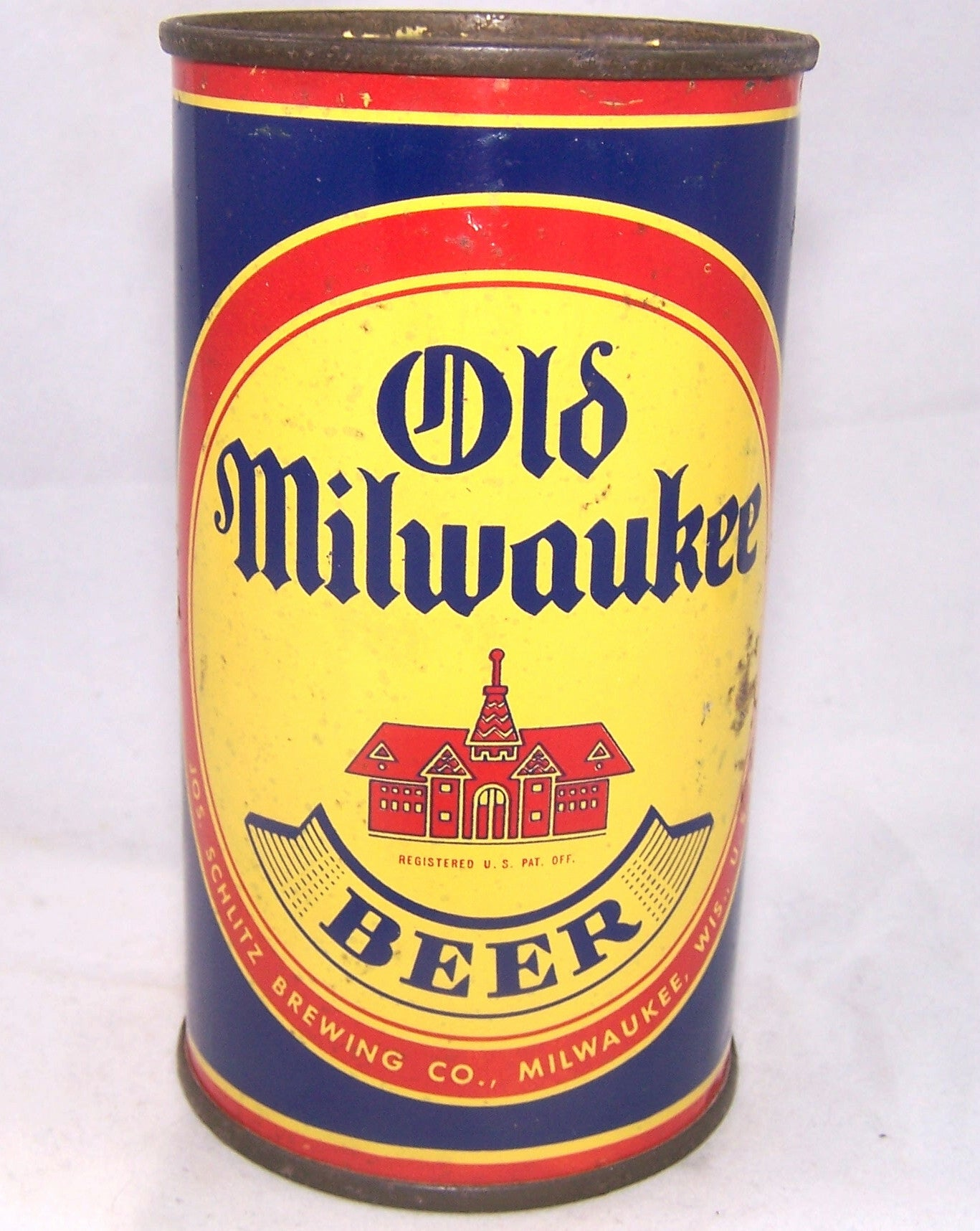 Old Milwaukee (School House) USBC 107-21, Grade 1-  Sold on 12/22/16