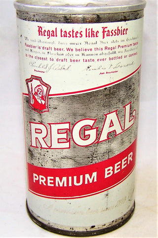Regal Premium Beer, USBC II 113-19, Grade 1-