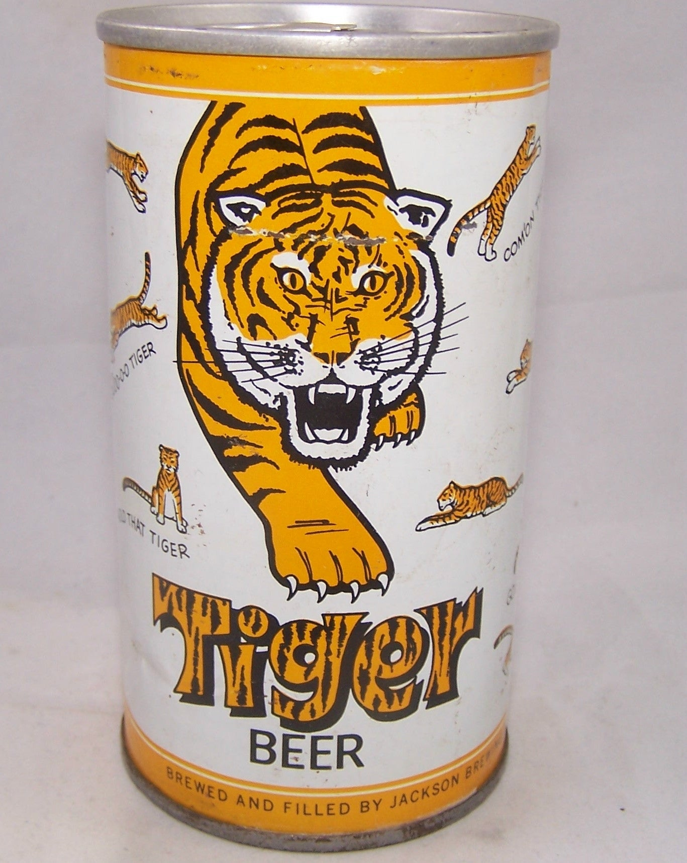 Tiger Beer, USBC II 130-07, Grade 1/1- Sold on 12/19/16