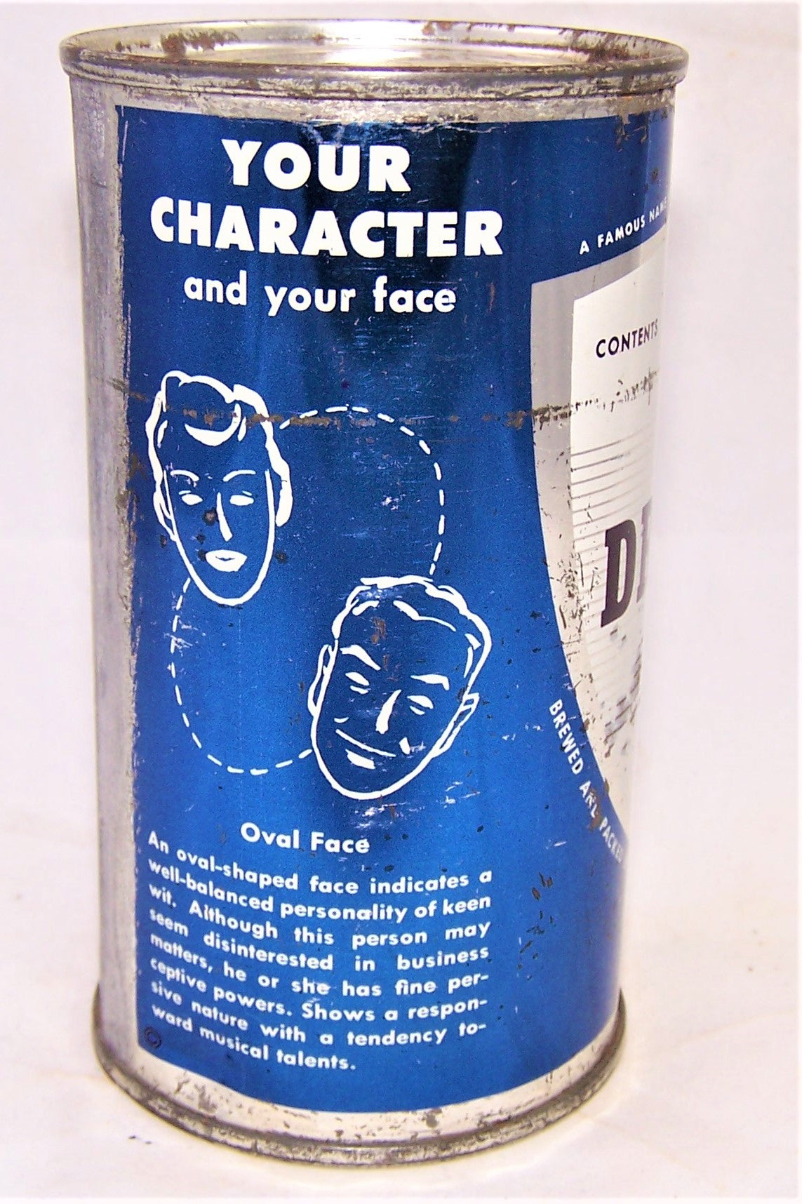 Drewrys Extra Dry (Your Character) USBC 56-40, Grade 1-