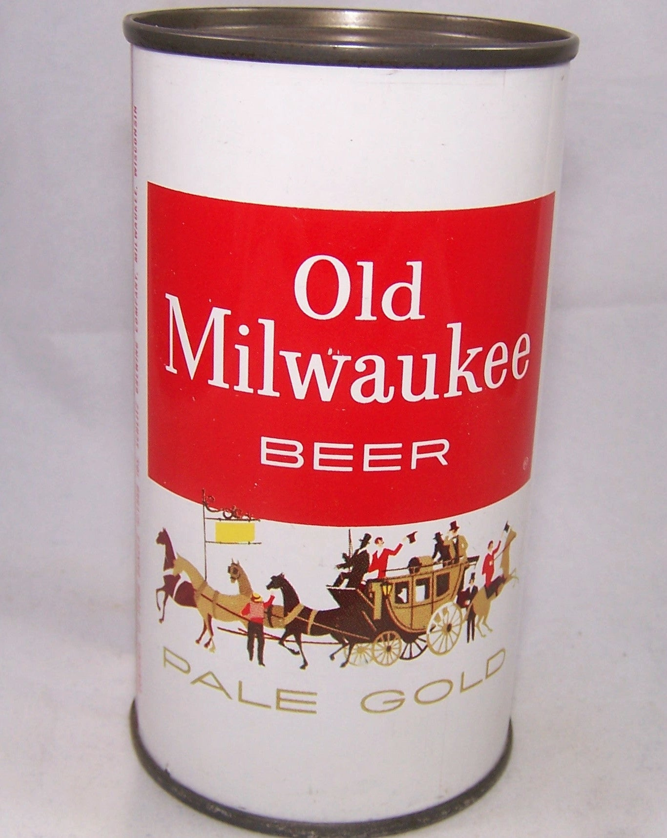 Old Milwaukee Pale Gold Beer, USBC 107-29, Grade A1+Blue