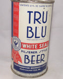 Tru Blu White Seal Beer (White can) Lilek # 812, Grade 1-