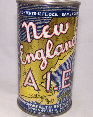 New England Ale, (Yellow shoreline) Lilek # 573, Grade 2+