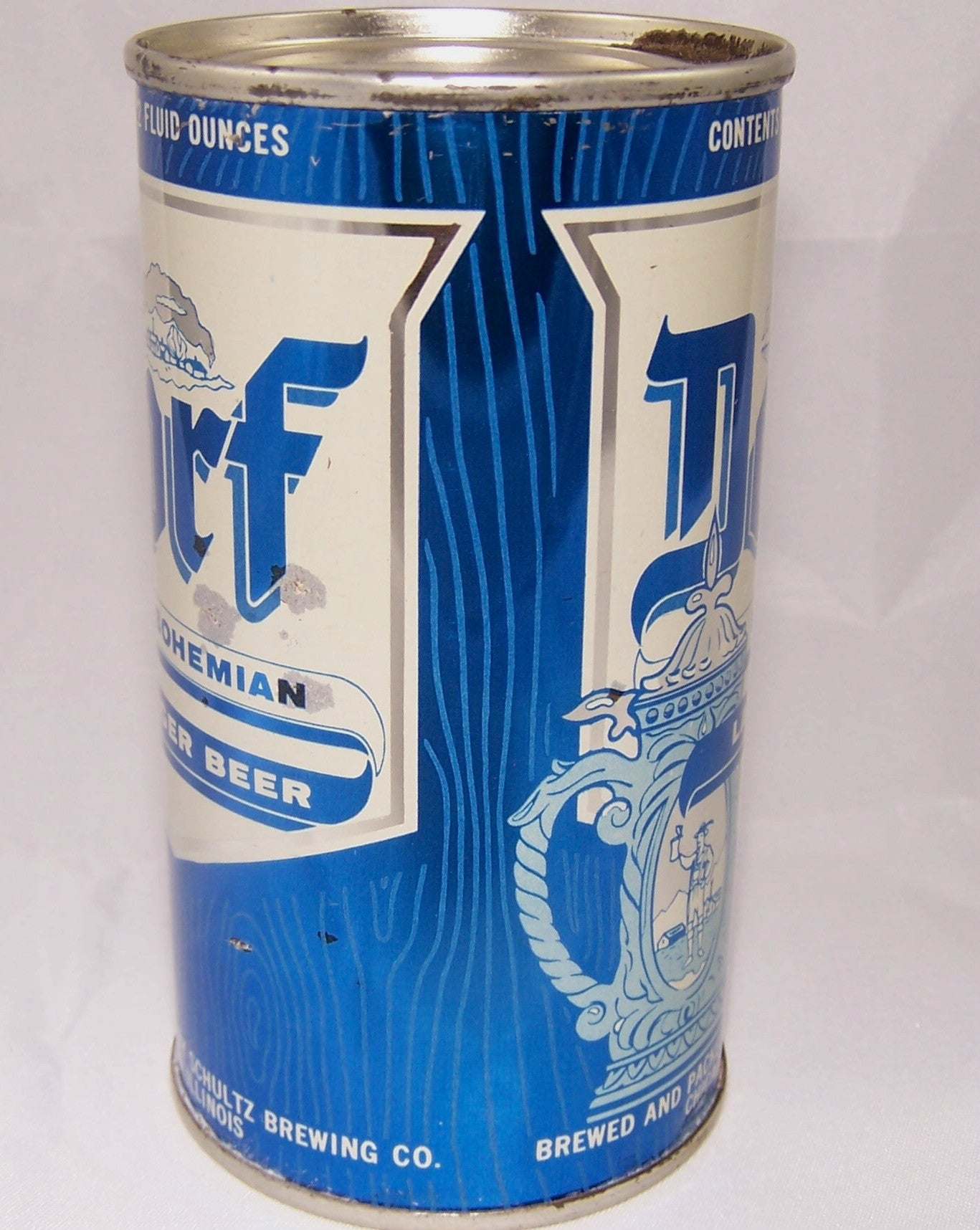 Dorf Bohemian Lager Beer, USBC 54-25, Grade 1 Sold on 5/11/15