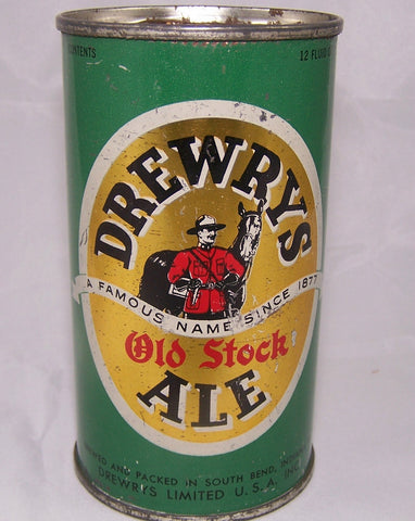 Drewrys Old Stock Ale, USBC 55-28, Grade 1- Sold on 04/16/16