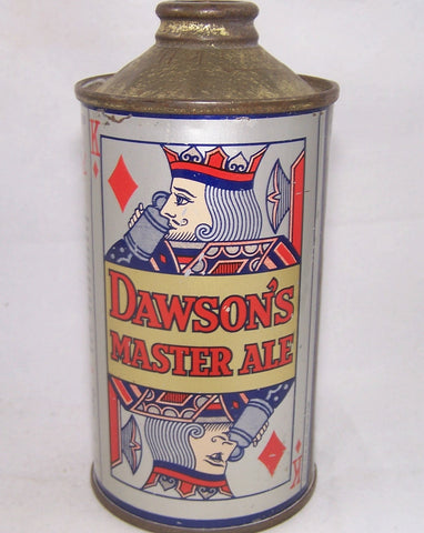 Dawson's Master Ale (Playing Card) USBC 155-24, Grade 1 Sold on 06/04/17